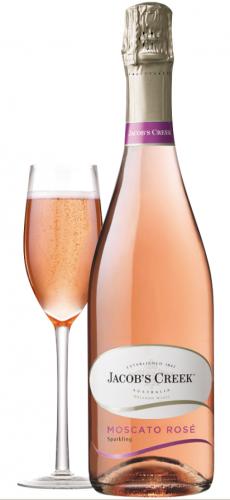 moscato rose sparkling bottle
