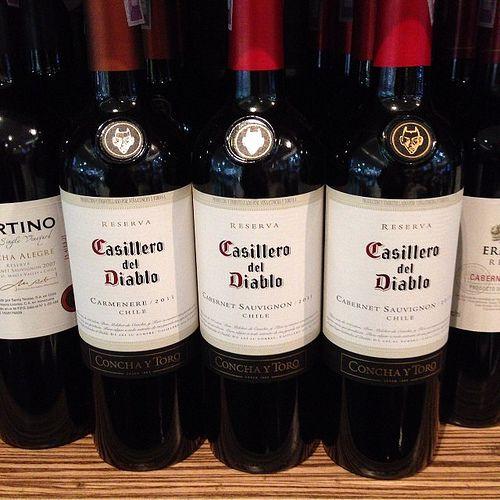 #foodblog En el d?a del vino, por qu? no disfrutar de una copa de Casillero del diablo? @elproximojuego