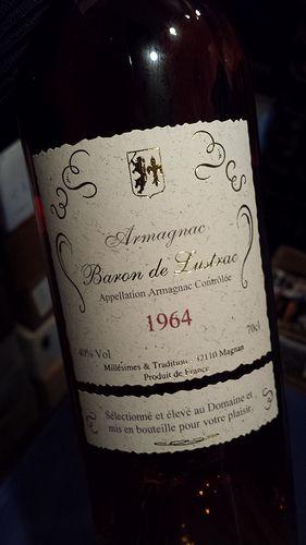 Baron de Lustrac 1964 Vintage Armagnac