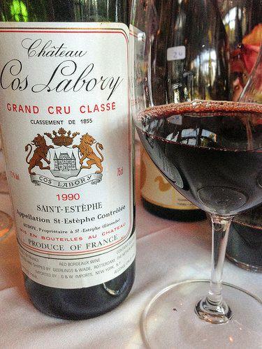 1990 Chateau Cos Labory Bordeaux at Troquet www.troquetboston.com