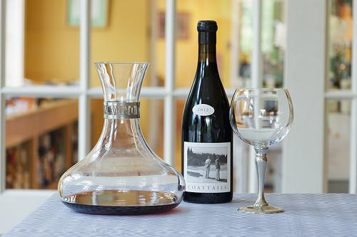In Vino Veritas Decanter by Match Pewter