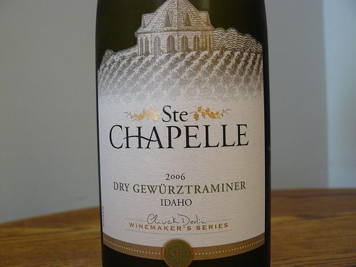 Ste Chapelle Dry Gewurztraminer2
