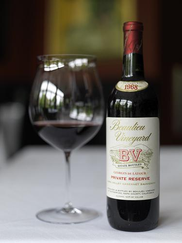 1968 Beaulieu Vineyard Napa Valley Cabernet Sauvignon at Troquet
