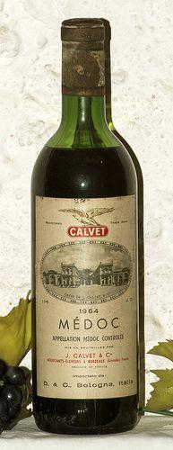 J. Calvet Medoc Bordeaux 1964