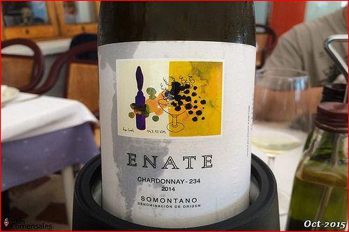 Vino Enate Chardonnay - Mena en Denia