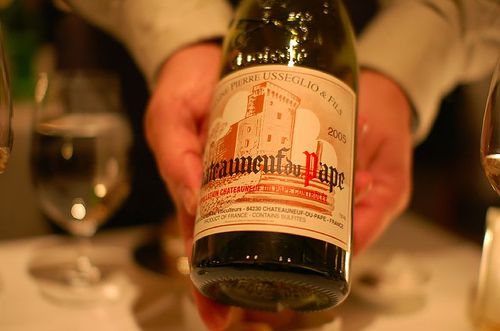 Domaine Pierre Usseglio, Chateauneuf-du-Pape, Rhone Valley, France 2005