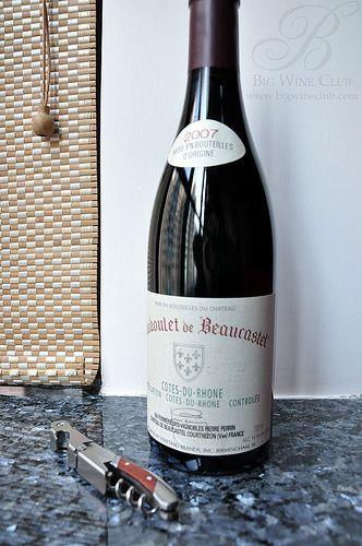 Coudoulet de Beaucastel Cotes du Rhone 07'