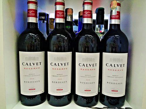 Calvet deserve merlot cabernet sauvignon 2010 Bordeaux