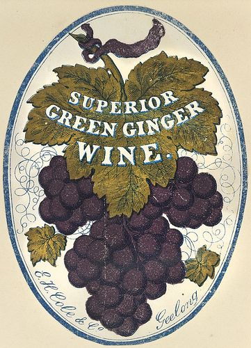 Superior Green Ginger Wine, E. H. Cole & Co. Geelong.