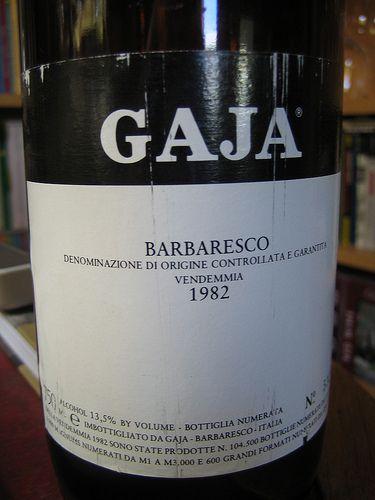 1982 Gaja Barbaresco