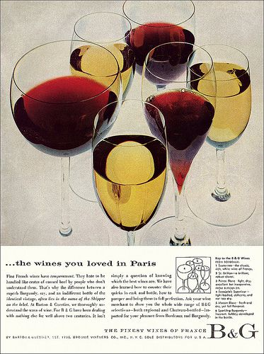Barton & Guestier Wines Ad, c1957