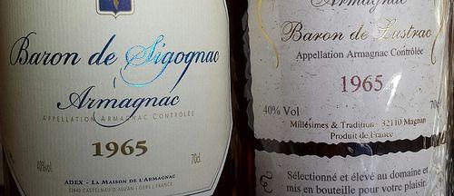 Vintage Armagnac at Fareham Wine Cellar