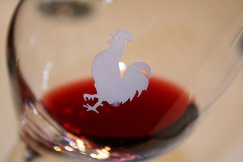 Chianti Classico in a glass
