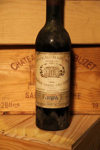 1x 1964 Chateau Margaux, Grand Vin, Premier Grand Cru Classe