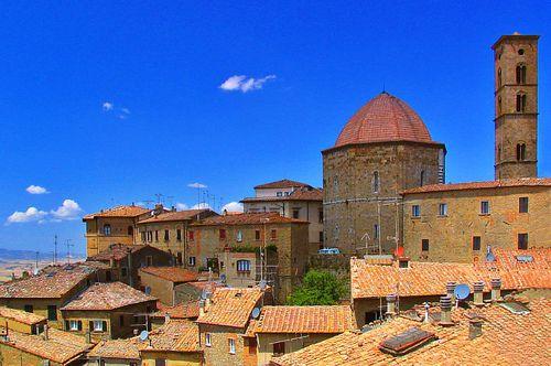 Volterra cityscape