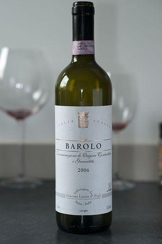 Barolo, 2006 from Giacosa Leona & Figli