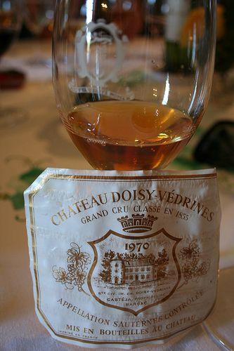 Ch?teau Doisy-V?drines, Barsac, Sauternes