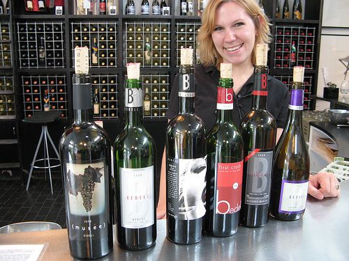 Tasting at Bedells with Riva Packard