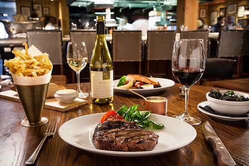 Sirloin Steak Wine