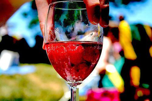 Raspberries and Wine