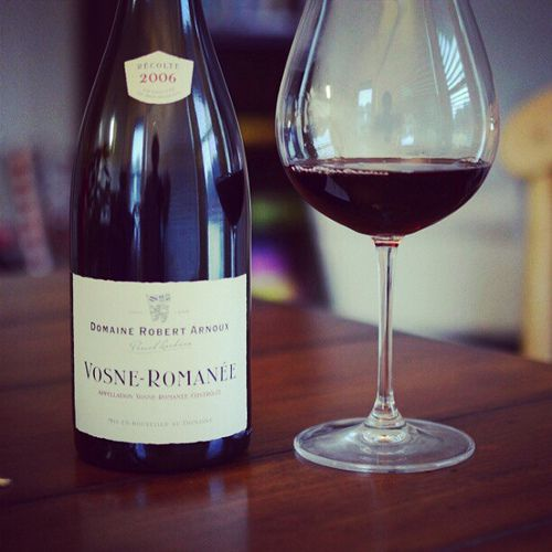Gotta have a little Vosne-Romanee once a year.