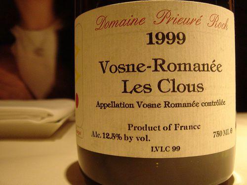 Vosne-Romanee Les Clous