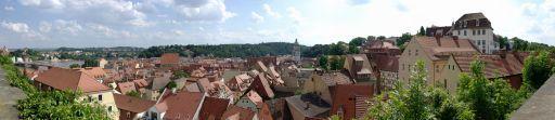 Panoramablick von der Albrechtsburg zu Mei?en ueber die Altstadt.jpg
