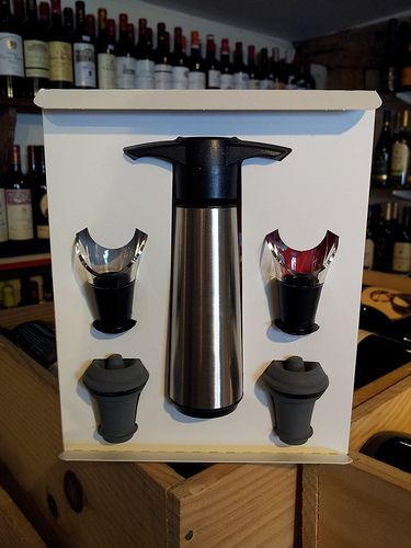 Vacuvin Wine Saver and Wine Server Set (5 Pieces)